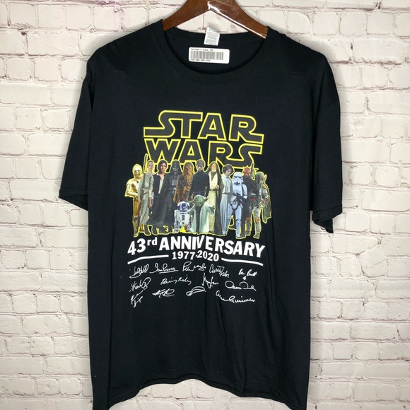 NEW Star Wars 43rd Anniversary T-shirt